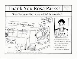 rosa parks coloring page jacb me