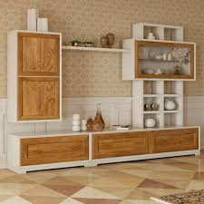 contemporary living room wall unit wooden la dolce vita stilema