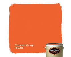 exuberant orange dea112 u2014 dunn edwards paints