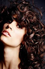 how to cut your own curly hair in layers a step by step guide on how to cut curly bangs w magazine