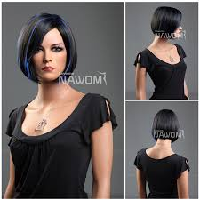 short straight dark brown hair red tips curls hairstyles for long