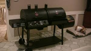 Brinkmann Dual Gas Charcoal Grill by Char Griller Duo With Optional Firebox Youtube