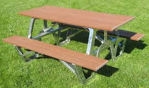 composite picnic table outdoorlivingdecor