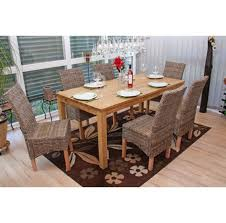 chaises en osier accueil 6x manger chaise en osier chaise m44 rotin kubu sans