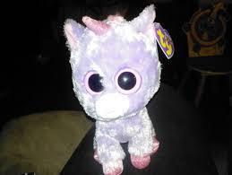 free beanie boo big eyed unicorn dolls u0026 stuffed animals