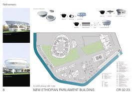 gallery of new ethiopian parliament building complex winning