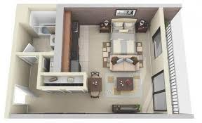 Small Condo Floor Plans แปลนคอนโดม เน ยม Floor Plan Pinterest Studio Apartment Plan