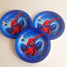 party city halloween plates online buy wholesale spiderman party supplies from china spiderman