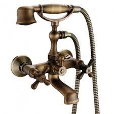 Tub Faucet Hand Shower Antique Brass Tub Faucet With Hand Shower U2013 Faucetsuperdeal Com