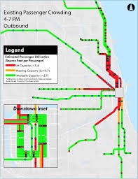 Cta Red Line Map Where The U0027l U0027 Is Experiencing Passenger Crowding Curbed Chicago