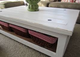 White Distressed Coffee Table Attractive Rustic White Coffee Table Distressed White Coffee Table