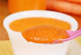 cuisine pour bébé purée de carottes au poulet pour bébé 6 à 9 mois