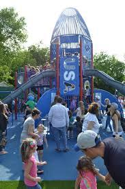 port jeff kids have a blast at rocketship park reopening tbr