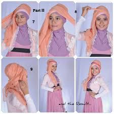 tutorial hijab pesta 2 kerudung 24 gambarnya tutorial hijab pesta cantik untuk kalian tutorial