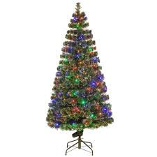 national tree company 6 ft fiber optic evergreen artificial