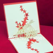 handmade pop up christmas cards step by chrismast cards ideas