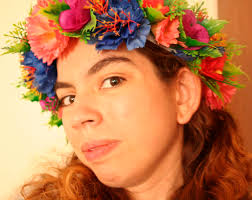 hippie flower headbands diy flower headbands 4 steps