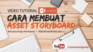 cara membuat video animasi online gratis cara membuat asset storyboard pada powerpoint mahir powerpoint