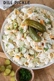 dill pickle pasta salad spend with pennies