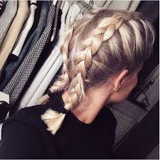 how to i french plait my own side hair boxer braid short hair lovely locks pinterest braid