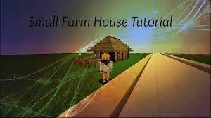 small wooden farm house minecraft tutorial youtube