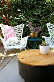 Ikea Outdoor Patio Furniture Ikea Outdoor Chair I It Vintage Feel Trouvailles Déco Pas
