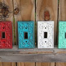 custom light switch covers colored switch plate covers simple diy colored light switch plates