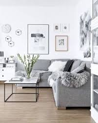 New Ways To Try Decorating With Grey From The Experts At Dulux - White and grey living room design