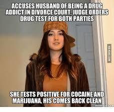 Drug Addict Meme - accuses husband of being a drug addict indivorce court judgeorders