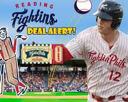 official reading fightin phils fightins homepage