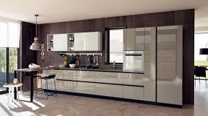 cuisine lineaire cuisine lineaire moderne mobilier décoration