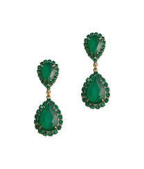 emerald earrings abba earrings in emerald loren