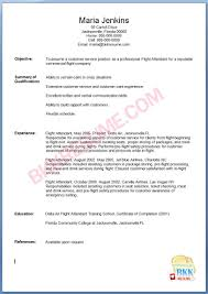 Resume Samples Job by Resume For Flight Attendant Job Free Resume Example And Writing