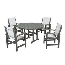 Polywood Outdoor Furniture Reviews by Polywood Gray Patio Dining Furniture Patio Furniture The