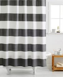 bathroom fixtures chevron nautical black white striped shower