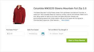 amazon columbia jackets black friday how citi u0027s price rewind benefit can save you big bucks