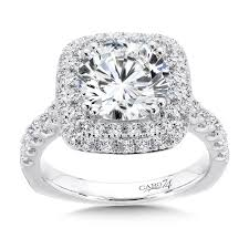 Halo Wedding Rings by Caro74 Grand Opulance Collection Double Halo Engagement Ring