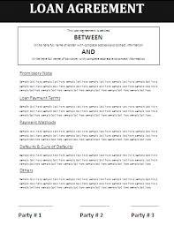 12 personal loan document template sendletters info