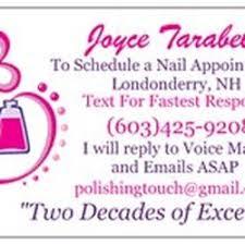 the polishing touch by joyce nail salons 123 nashua rd