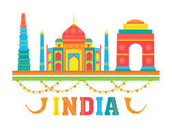 monuments for colourful indian monuments for independence day stock photo image
