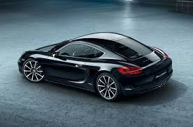 old porsche black 2016 porsche cayman black edition shows off stealth beauty motor