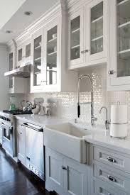 Kitchen Backsplash Photos White Cabinets by White Subway Tile Kitchen Ifresh Design