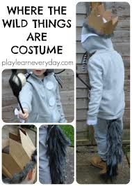 Easy Halloween Costumes To Make Where The Wild Things Are Costume Wild Things Costumes And Book