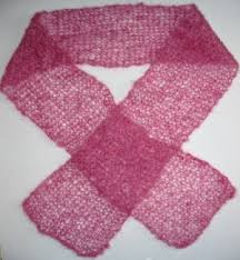 knitting pattern for angora scarf patterns