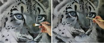 how to paint white tiger fur how to artists illustrators