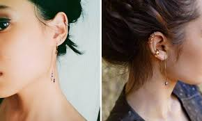 second ear piercing earrings don t ignore your second how to showcase the piercing
