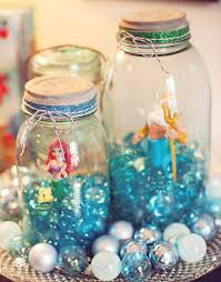 Centerpieces For Kids by Best 25 Little Mermaid Birthday Ideas On Pinterest Mermaid