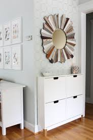 chic entryway with an ikea hack simple stylings