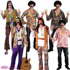 mens 60s 70s retro groovy cool hippie hippy man fancy dress