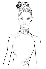 hairdo for boat neckline how to decide your hairdo as per your dress neckline a beautiful